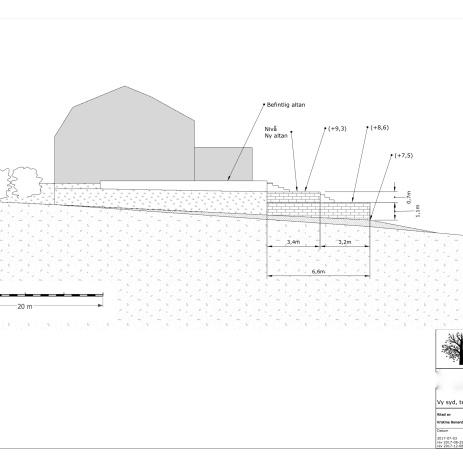 Bygglovsritning sektion