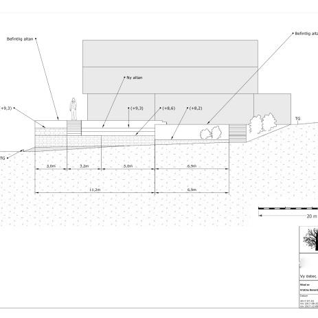 Bygglovsritning fasad