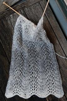 Påfågelmönstrad sjal -