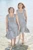 Solklänning i lin - St 3 Grå