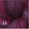 Melerat 2-tr ullgarn - Cyklamenmix  216