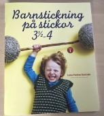 Barnstickning på stickor 3 1/2 - 4