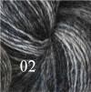 6 Hjelholts 1-tr ullgarn - Mörkgrå  102