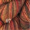 6 Hjelholts 1-tr ullgarn - Rödbrun  107