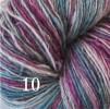 6 Hjelholts 1-tr ullgarn - Ljungmix  110