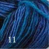 6 Hjelholts 1-tr ullgarn - Turkosmix  111