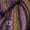 6 Hjelholts 1-tr ullgarn - Olivmix  112