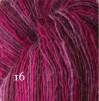 6 Hjelholts 1-tr ullgarn - Cerise  116