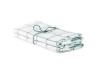 Handduk köksrutan i lin 2-pack - Handduk köksruta Isblå