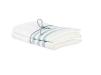 Handduk lin 2-pack - Handduk Rand Isblå