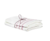 Handduk lin 2-pack - Handduk Rand Rosa