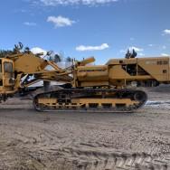 Täckdikare / Kedjegrävare Trencher Drainage Machine