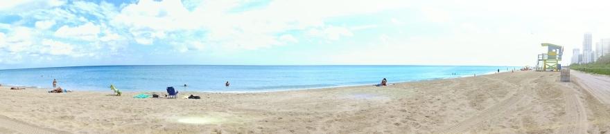 Stranden på North Beach (750 meter från huset)