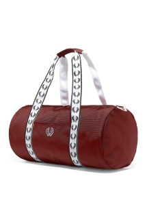 Fred Perry Track Barrel Bag - One Size