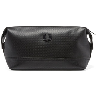 Fred Perry Piqué Texture Travel Kit Bag - One Size