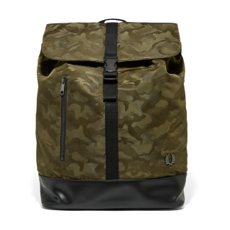 Fred Perry Camo Back pack - One Size