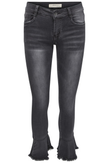 Chica London Jeans med volang - Storlek 34