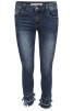 Chica London Jeans avklippta med fransar - Storlek 36