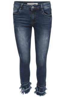Chica London Jeans avklippta med fransar - Storlek 34