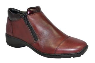 Rieker Boots med dubbla dragkedjor - Storlek 38