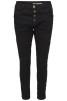Chica London Jeans Baggy med glitter revär - Storlek S