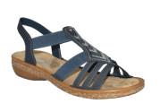 Rieker Sandal med Bling