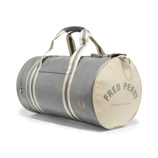 Fred Perry Classic Barrel Bag Grå - One Size