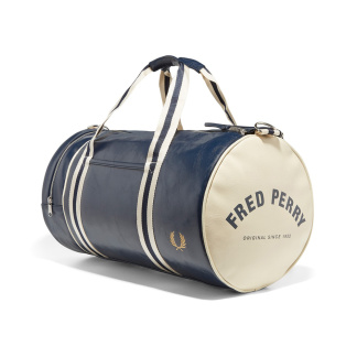 Fred Perry Classic Barrel Bag Navy - One Size