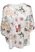 Chica London Blus med Flower print