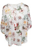 Chica London Blus med Flower print - One Size