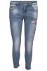Chica London Broderade Jeans - Storlek L