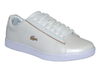 Lacoste Carnaby EVO White/Gold - Strl 38
