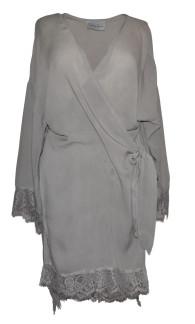 Bypias Luna Kimono ljusgrå - One Size