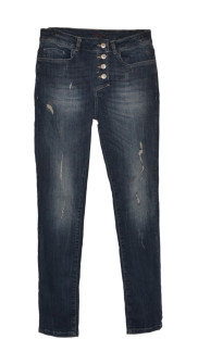Bypias Perfect Fit Jeans Dark Denim - Strl S