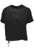 Ajlajk Sweatshirt med nitar - Storlek L
