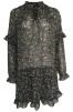 Neo Noir Abela Printed Dress - M