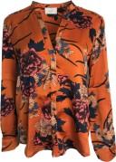 Neo Noir Pandora Flower Shirt