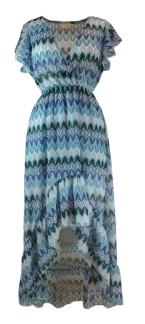 Chica London Klänning med volang - S/M