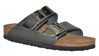 Birkenstock Arizona Metallic Anthracite - 37