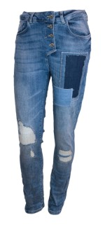 Bypias Patchwork Jeans - Strl S