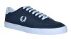 Fred Perry Deuce Leather Navy - 45