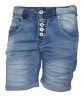 Chica London Shorts med bling - M