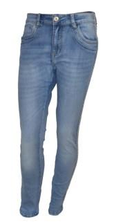 Chica London Jeans med rosa nitrevär - XS
