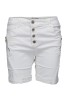 Chica London Shorts med zip vit - XL