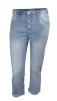 Chica London 7/8 jeans ljus tvätt - XL