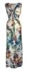 Chica London Långklänning med blommor - One Size