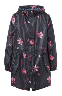 Joules GOLIGHTLY PRINTED WATERPROOF JACKET - 38