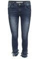 Chica London Jeans avklippta med fransar