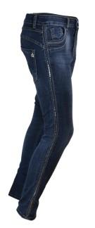 Chica London Jeans med nitrevär - XS