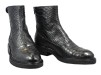 Billi Bi Boots i snakepräglat skinn